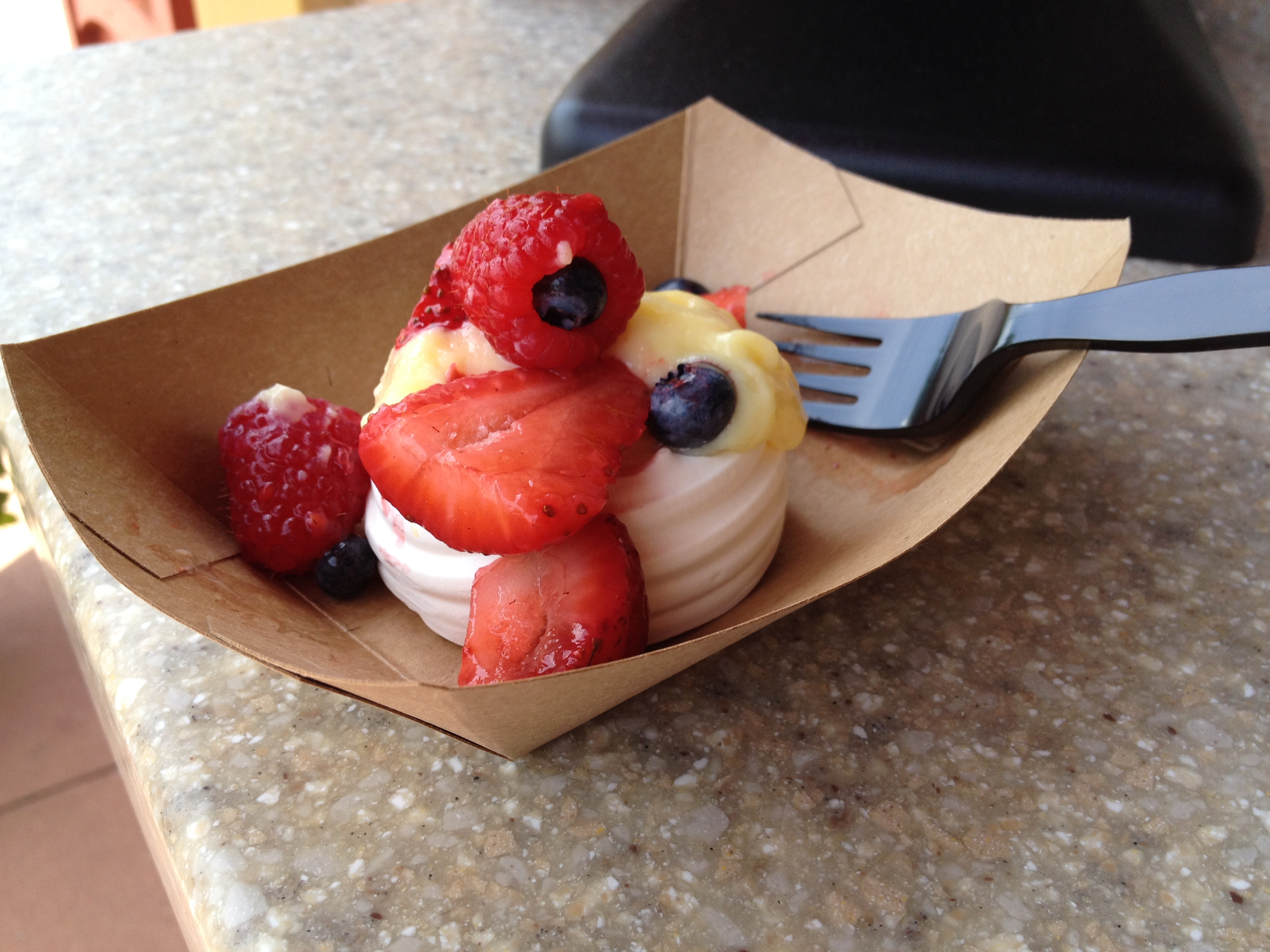 Pavlova Dessert - Available at the Australia Kiosk