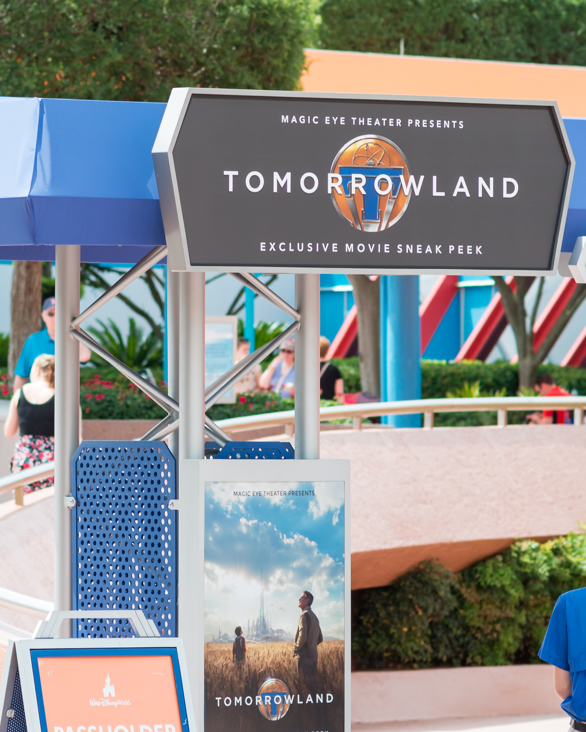 Tomorrowland movie preview at Epcot
