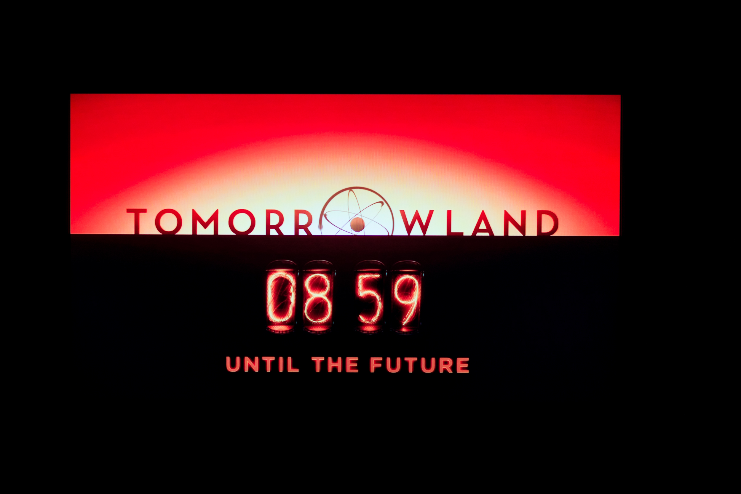 Countdown until Tomorrowland movie starts