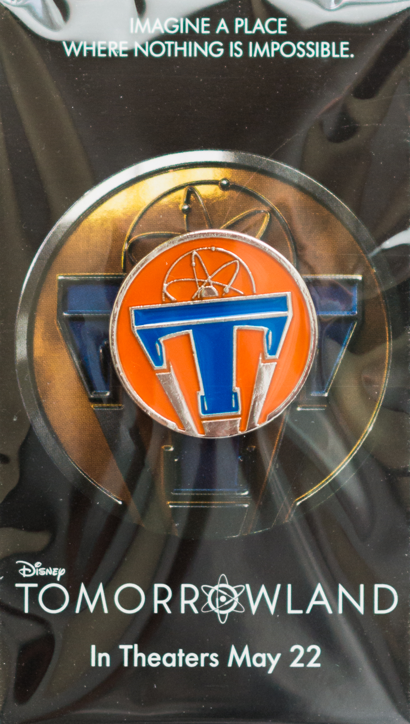Tomorrowland Movie Pin